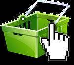 Einkaufskorb Icon Für Vertikutierer